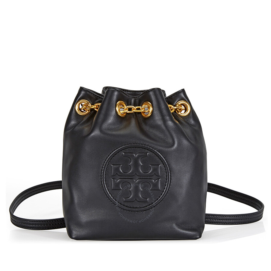 8576328c604 Tory Buch Mini Fleming Backpack- Black - Tory Burch - Handbags ...
