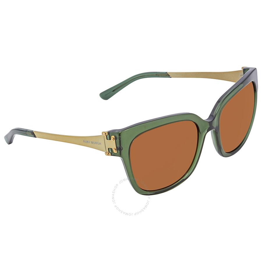 e4ca3d541fab Tory Burch Amber Square Sunglasses TY7110 167973 57 - Tory Burch ...