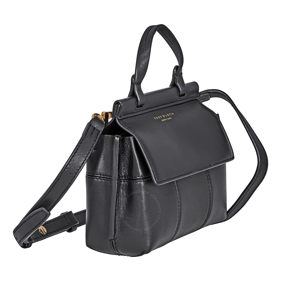 a06312eb4b0 Tory Burch Block-T Mini Satchel- Black - Tory Burch - Handbags ...