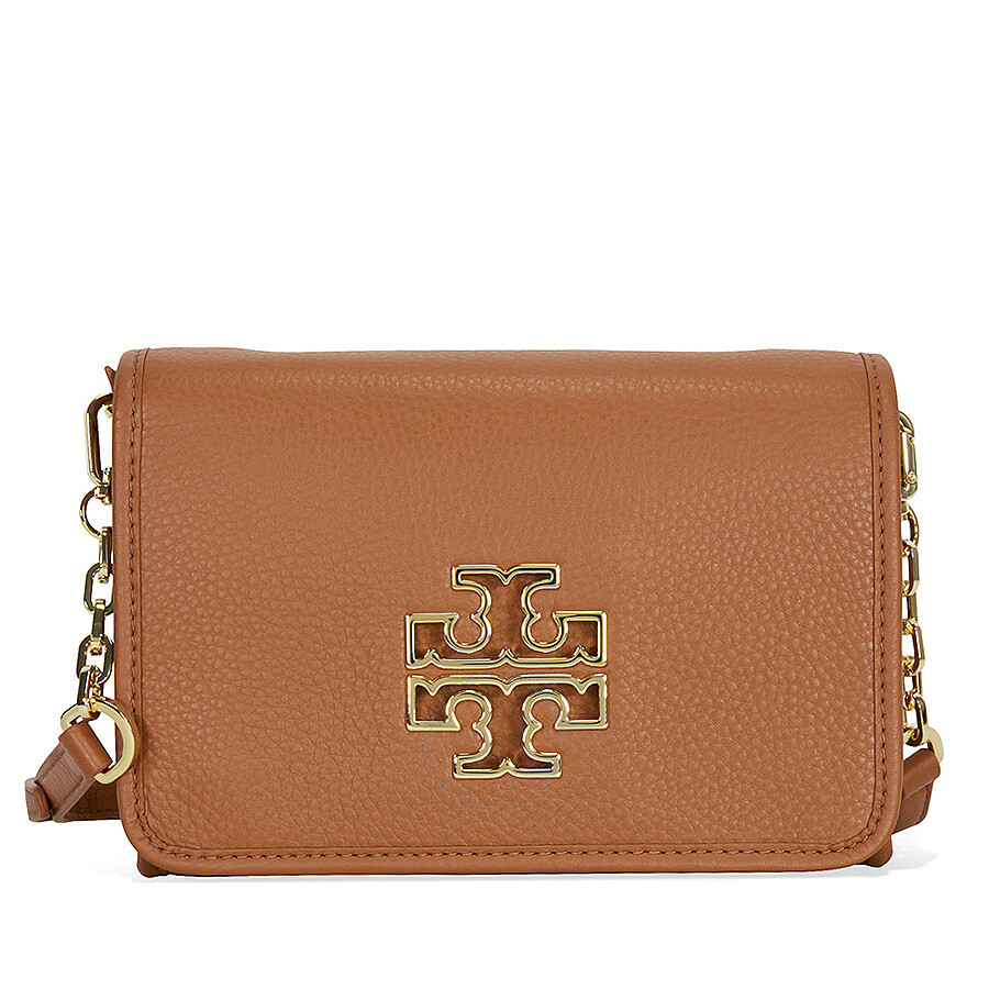 4f0ce4becd2 Tory Burch Britten Combo Crossbody Bag - Bark Item No. 31159880-BG