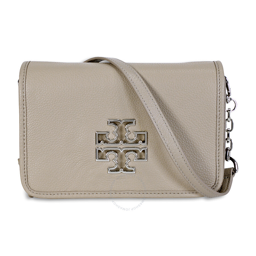8561b26ae06 Tory Burch Britten Ladies Combo Crossbody - French Grey Item No.  41159880-GRY