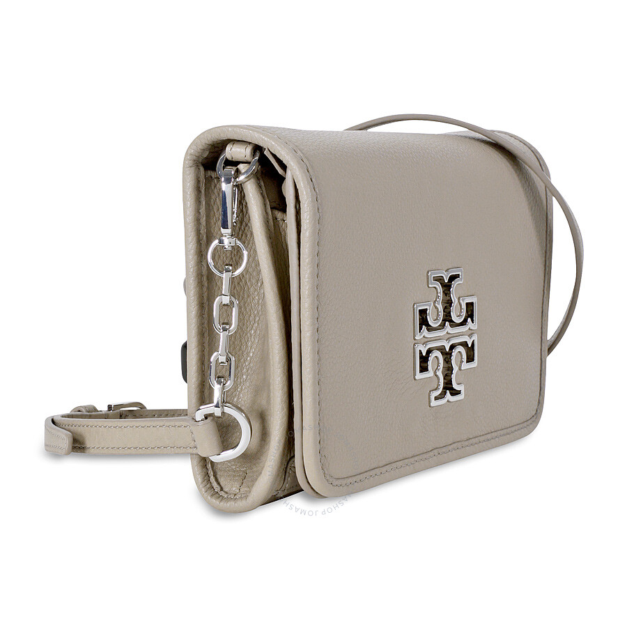 f9b29cd3e6c7 Tory Burch Britten Ladies Combo Crossbody - French Grey - Tory Burch ...