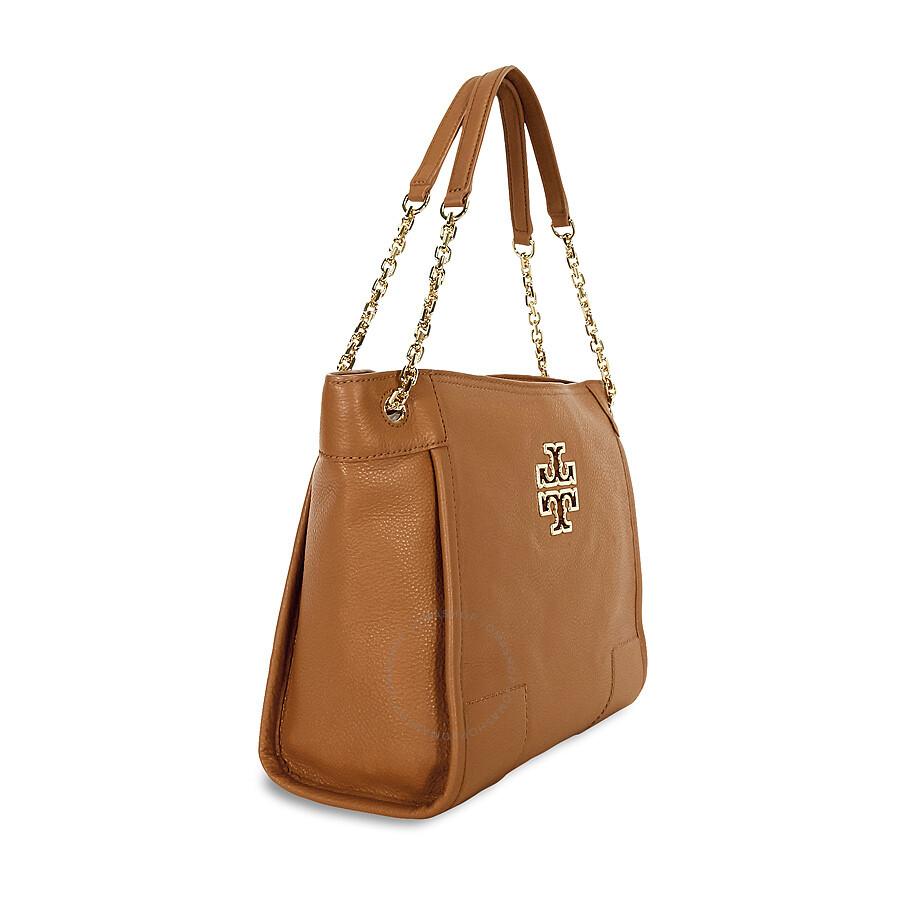 8f63090dc525 Tory Burch Britten Small Slouchy Tote - Bark - Tory Burch - Handbags ...