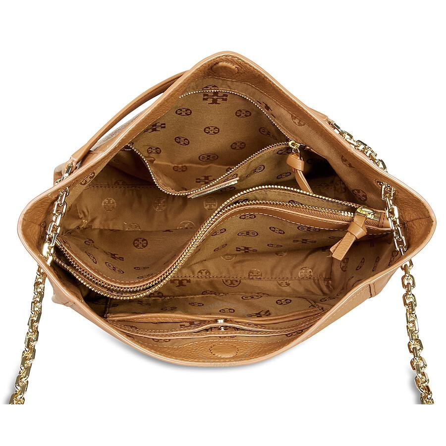 aa092868039 Tory Burch Britten Small Slouchy Tote - Bark - Tory Burch - Handbags ...