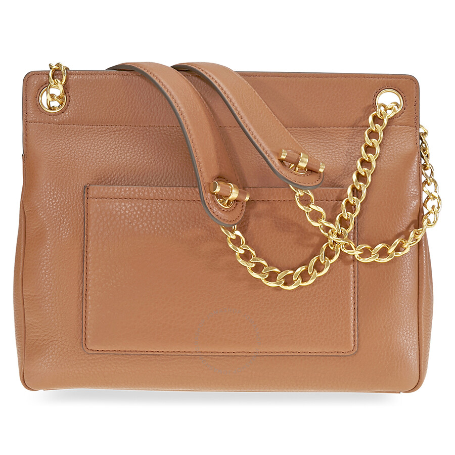 dbe50bb79146 Tory Burch Chelsea Flap Pebbled Leather Shoulder Bag- Tan - Tory ...