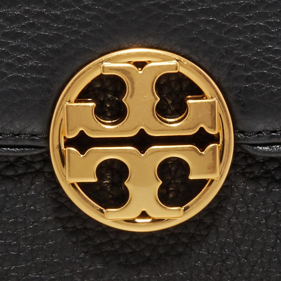 ceab34cd03a7 Tory Burch Chelsea Mini Leather Crossbody Bag- Black - Tory Burch ...