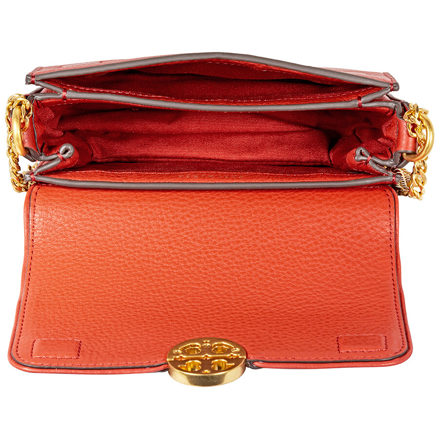 cd1f5c24c5ab Tory Burch Chelsea Mini Leather Crossbody Bag- Orange - Tory Burch ...