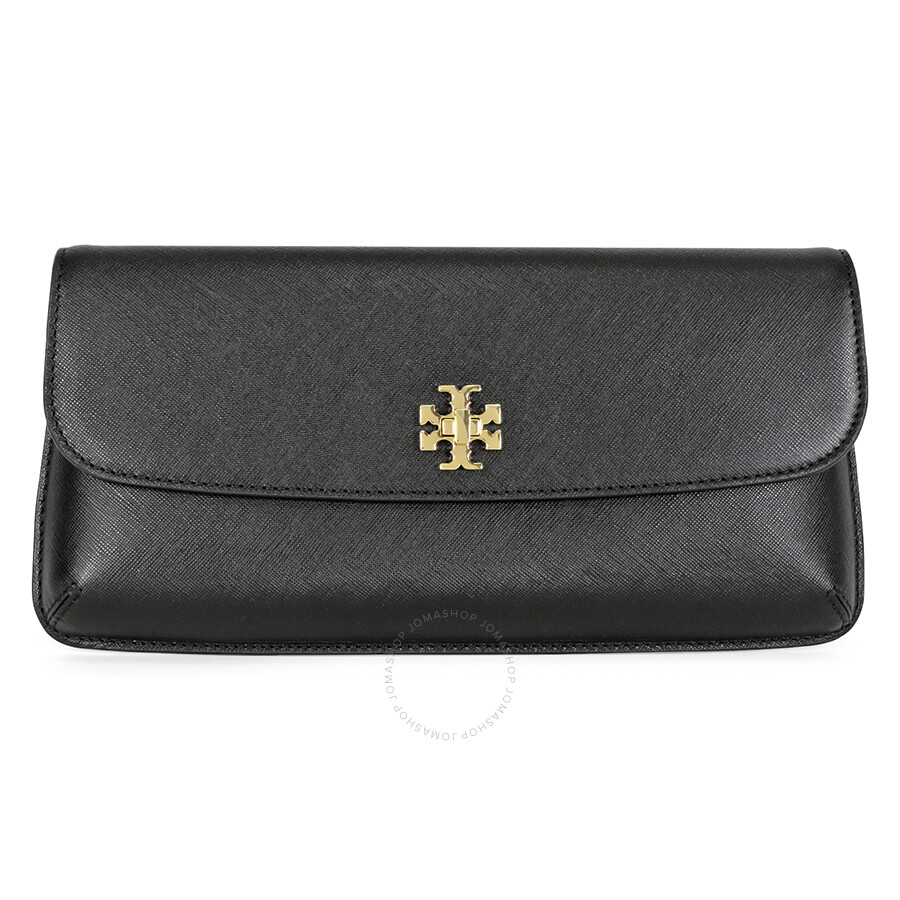 8d1381f82842b Tory Burch Diana Black Saffiano Leather Ladies Clutch - Tory Burch ...