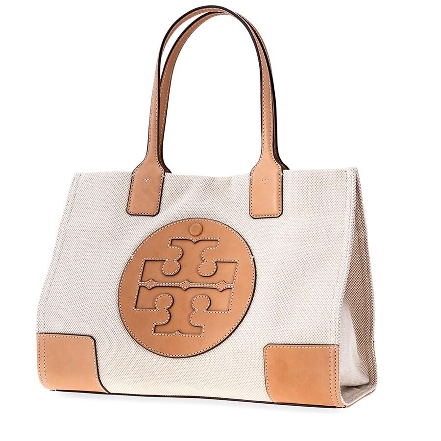 1b9fc8a392 Tory Burch Ella Canvas Mini Tote- Natural - Tory Burch - Handbags ...