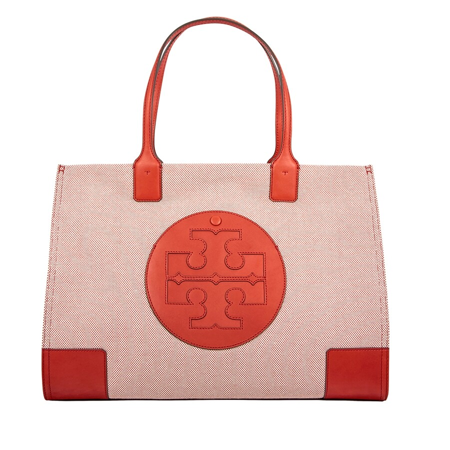 54fa3795f64 Tory Burch Ella Canvas Tote - Tory Burch - Handbags - Jomashop