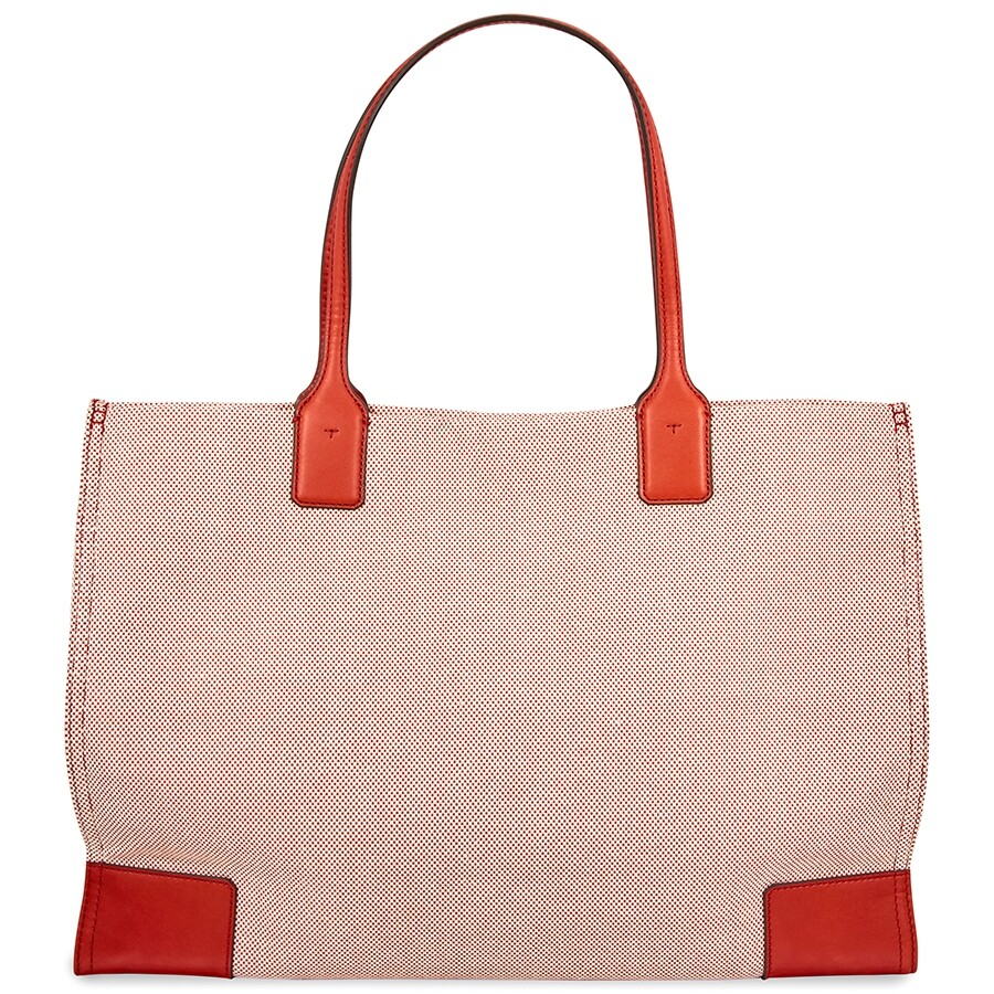 8d69eca75f Tory Burch Ella Canvas Tote - Tory Burch - Handbags - Jomashop