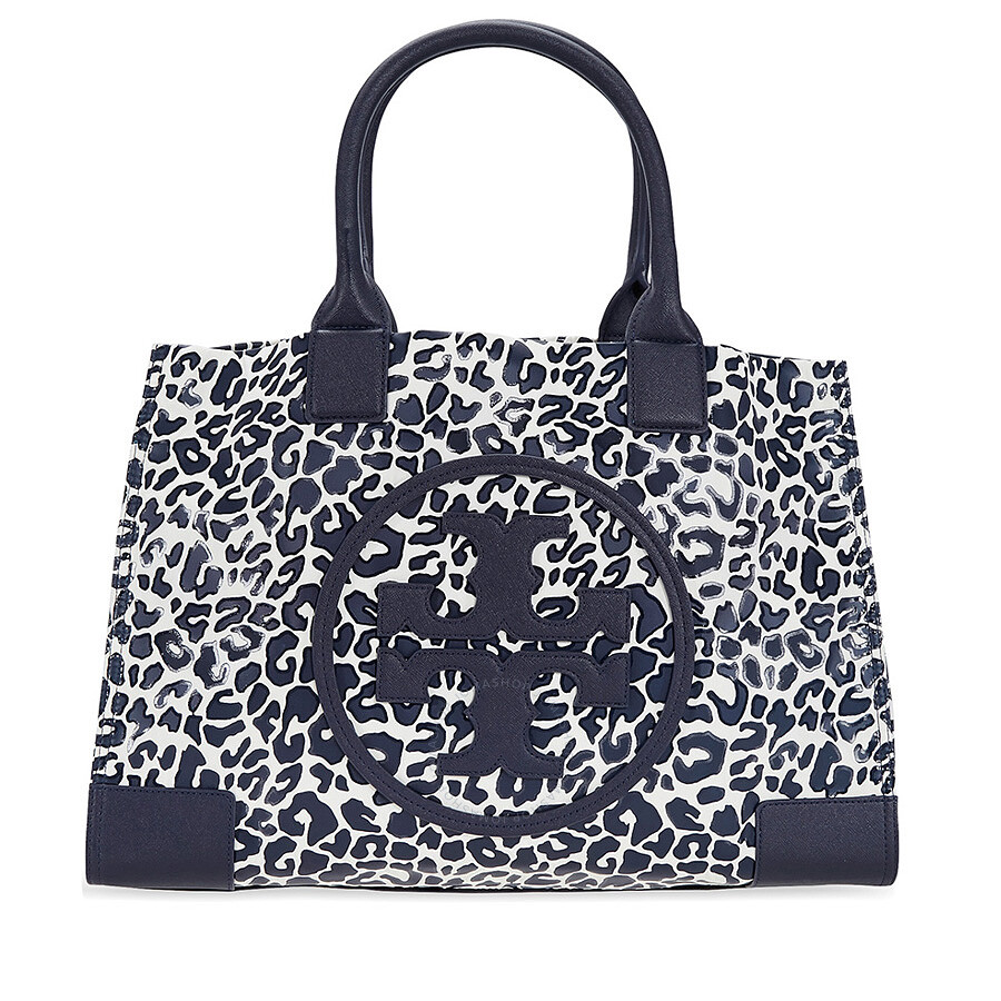 403557e296d Tory Burch Ella Large Nylon Tote - Clouded Leopard Item No. 41450-413