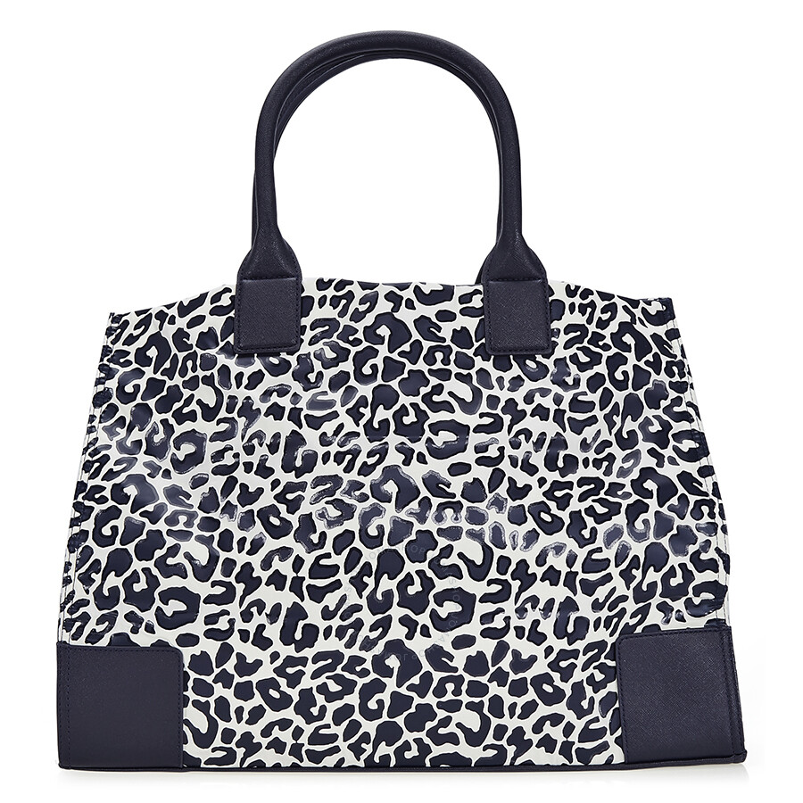 24e71704fd0 Tory Burch Ella Large Nylon Tote - Clouded Leopard - Tory Burch ...
