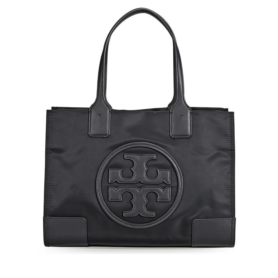 7c8112c9896 Tory Burch Ella Nylon Mini Tote- Black - Tory Burch - Handbags ...