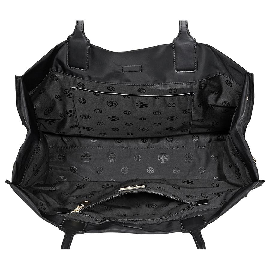 b975919eb1b1 Tory Burch Ella Nylon Mini Tote- Black - Tory Burch - Handbags ...