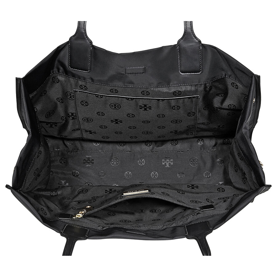 4c4c31c50779 Tory Burch Ella Nylon Mini Tote- Black - Tory Burch - Handbags ...