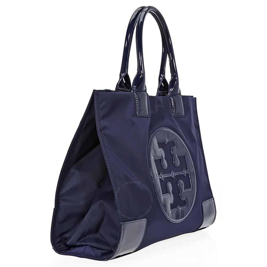 cffa41cfc31 Tory Burch Ella Nylon Tote- French Navy - Tory Burch - Handbags ...