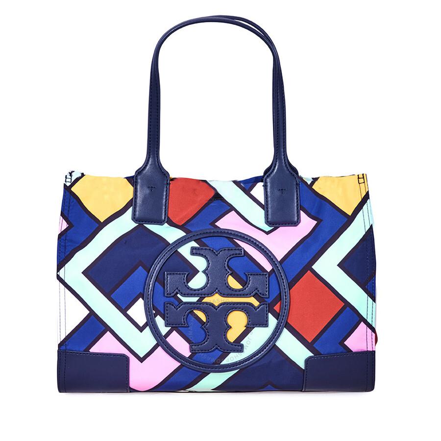 a015aee9c66c5 Tory Burch Ella Printed Mini Nylon Tote - Tory Burch - Handbags ...