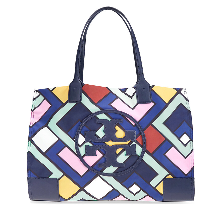 efcc94a677eaa Tory Burch Ella Printed Nylon Tote - Tory Burch - Handbags - Jomashop