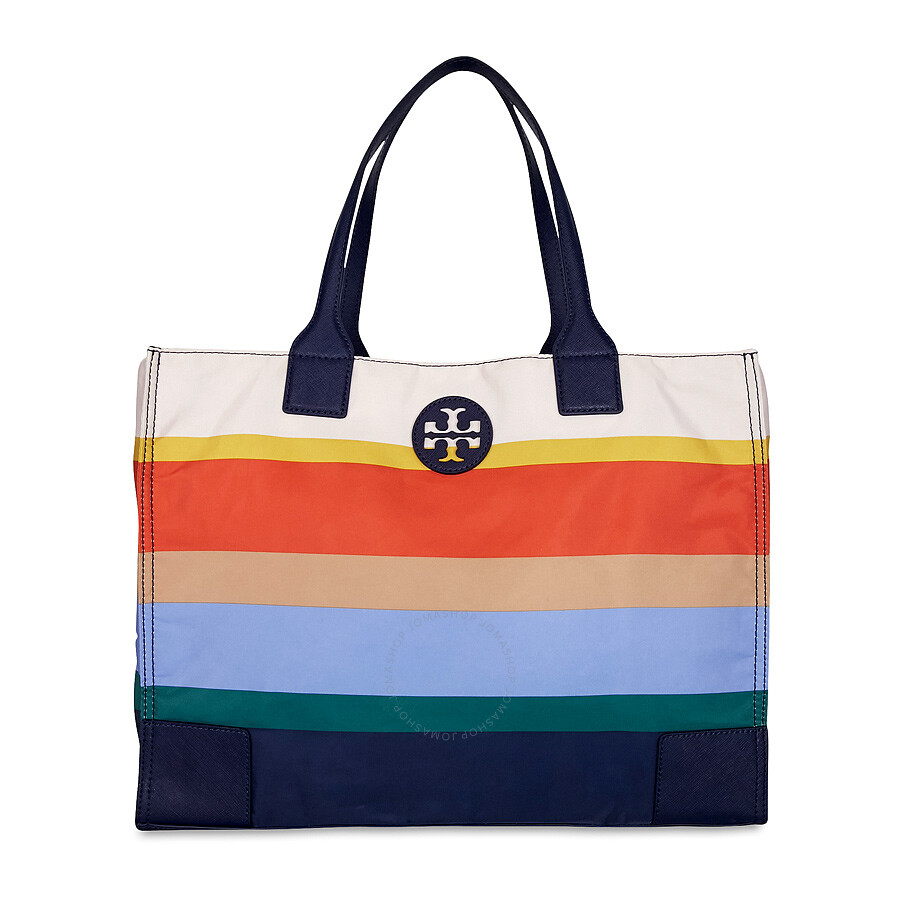 b9ee8bfdf51 Tory Burch Ella Printed Packable Tote - Journey Stripe Item No. 29340-964