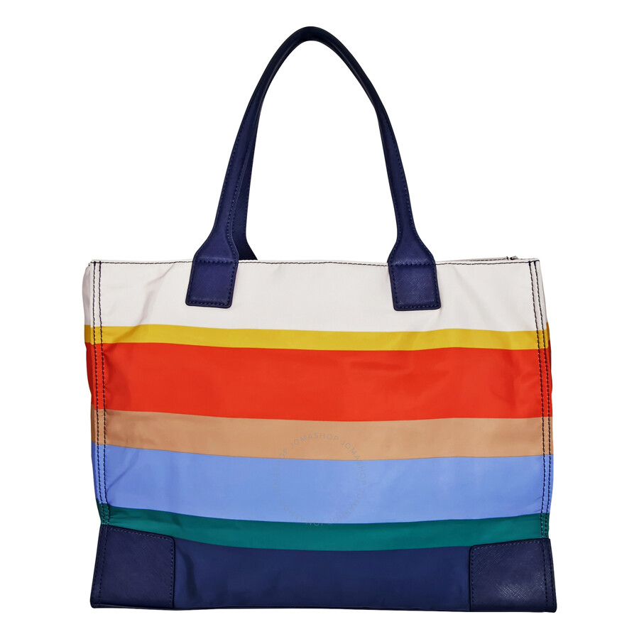 c8f7862f607 Tory Burch Ella Printed Packable Tote - Journey Stripe - Tory Burch ...