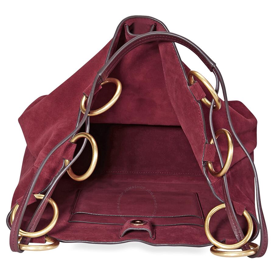 50dac0b46ac6 Tory Burch Farrah Suede Tote- Exotic Red - Tory Burch - Handbags ...