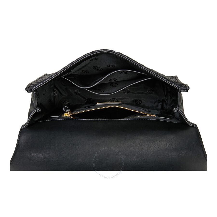 aafac8a438c Tory Burch Fleming Convertible Shoulder Bag - Black - Tory Burch ...