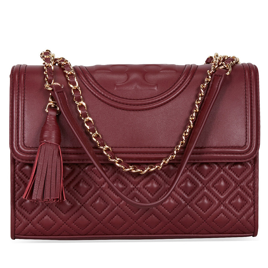cf808c666 Tory Burch Fleming Convertible Shoulder Bag - Port Royal - Tory ...