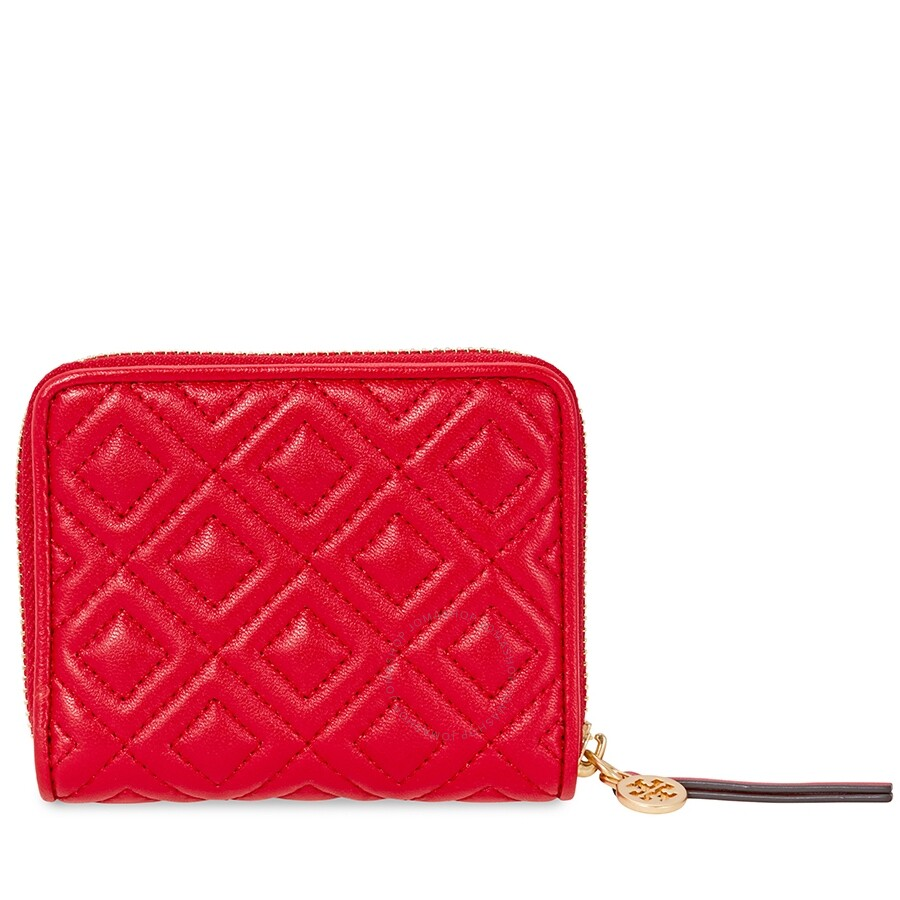 05ee278d970 Tory Burch Fleming Medium Wallet- Red - Tory Burch - Handbags - Jomashop