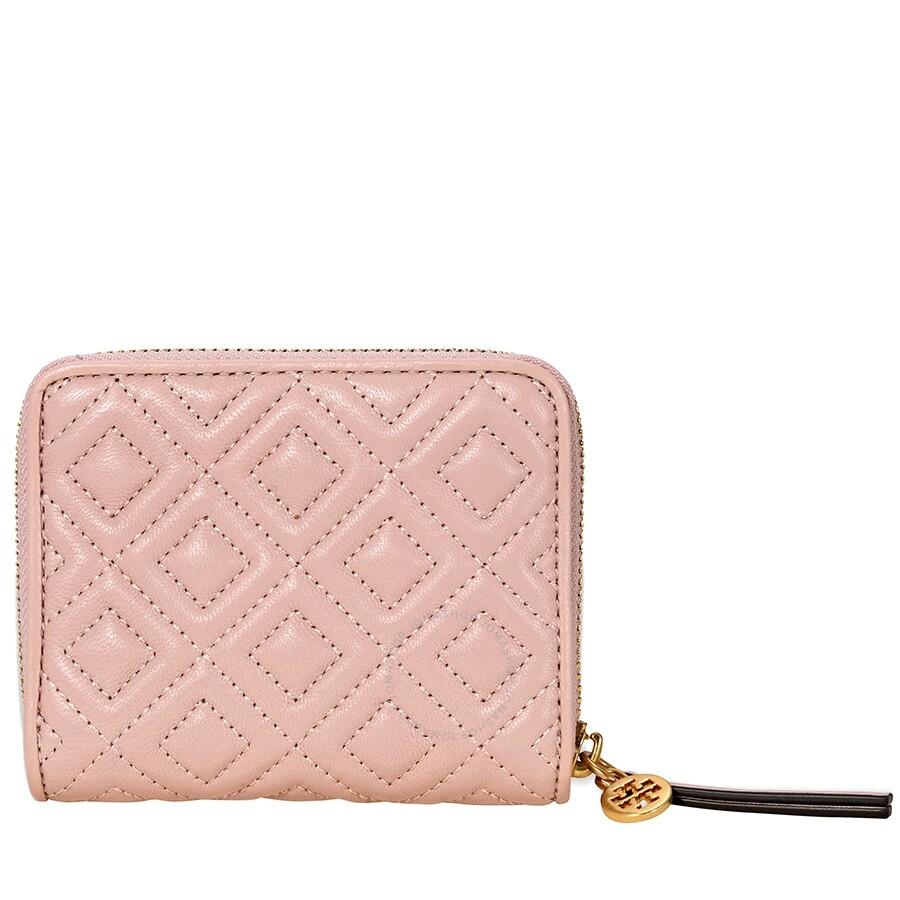 f13b3288433 Tory Burch Fleming Medium Wallet- Shell Pink - Tory Burch - Handbags ...