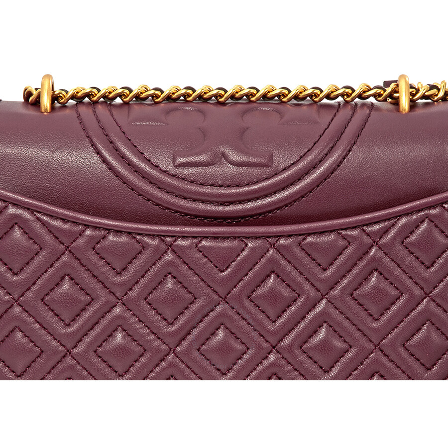 115c7ef488c2 Tory Burch Fleming Small Convertible Shoulder Bag - Imperial Garnet ...
