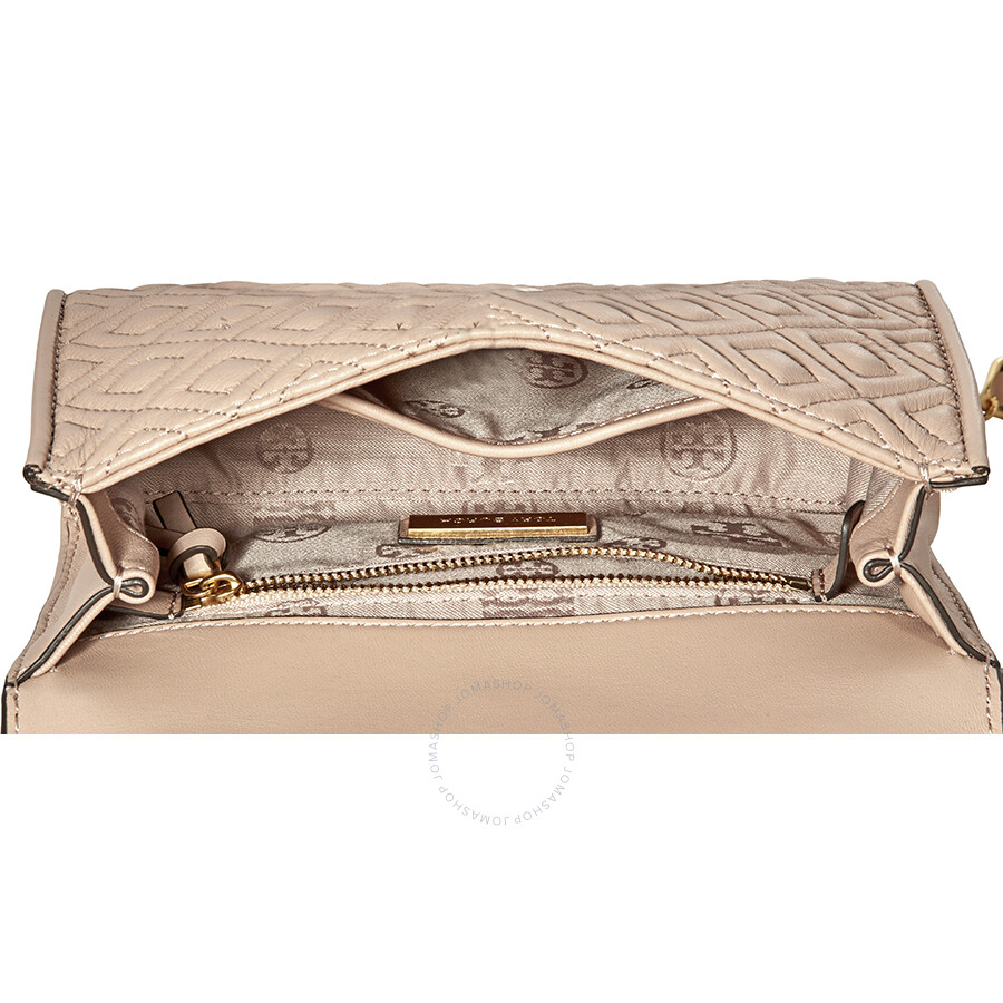 8e37ca61db4b Tory Burch Fleming Small Convertible Shoulder Bag - New Mink - Tory ...