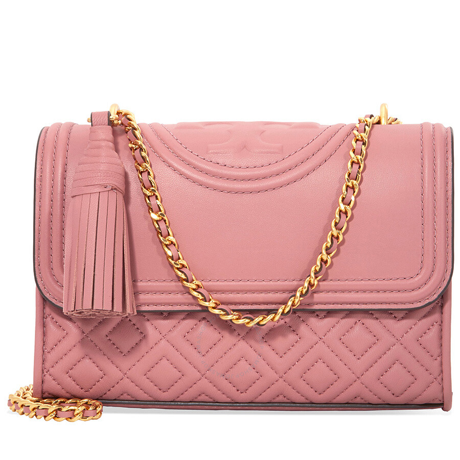 0f46c16a127a Tory Burch Fleming Small Convertible Shoulder Bag - Pink Magnolia Item No.  43834-651