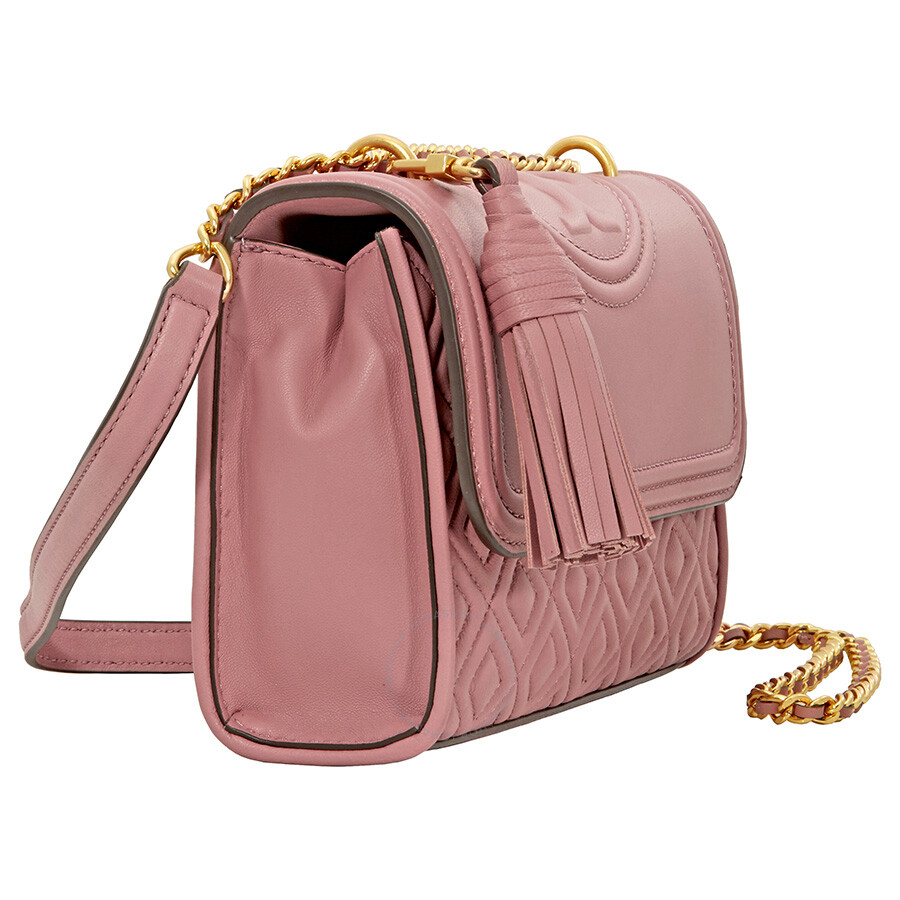 0354476a49fe Tory Burch Fleming Small Convertible Shoulder Bag - Pink Magnolia ...
