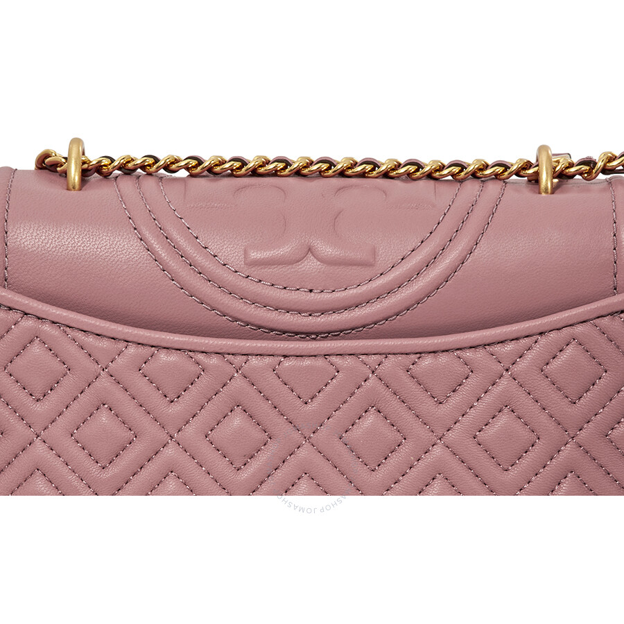 e069ba469cc Tory Burch Fleming Small Convertible Shoulder Bag - Pink Magnolia ...