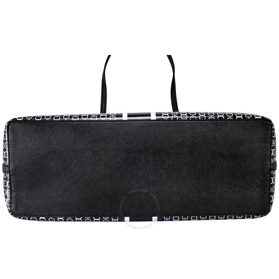 01fc55edf8a2 Tory Burch Gemini Link Tote - Black - Tory Burch - Handbags - Jomashop