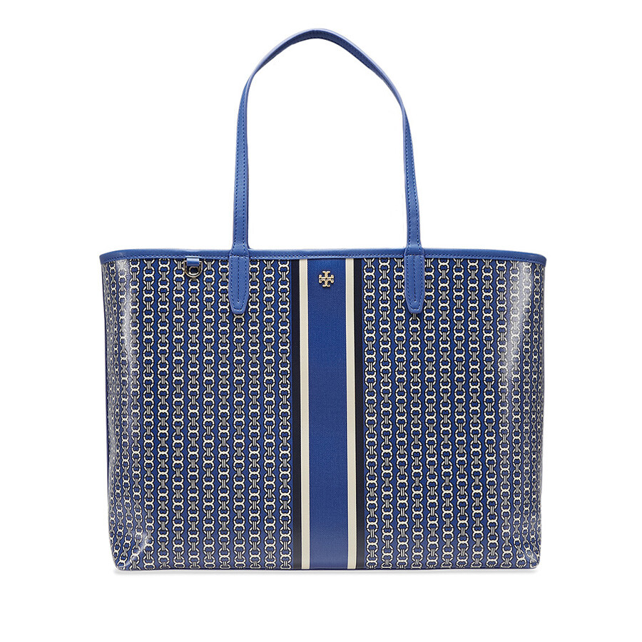 e90d355589e Tory Burch Gemini Link Tote - Jewel Blue - Tory Burch - Handbags ...