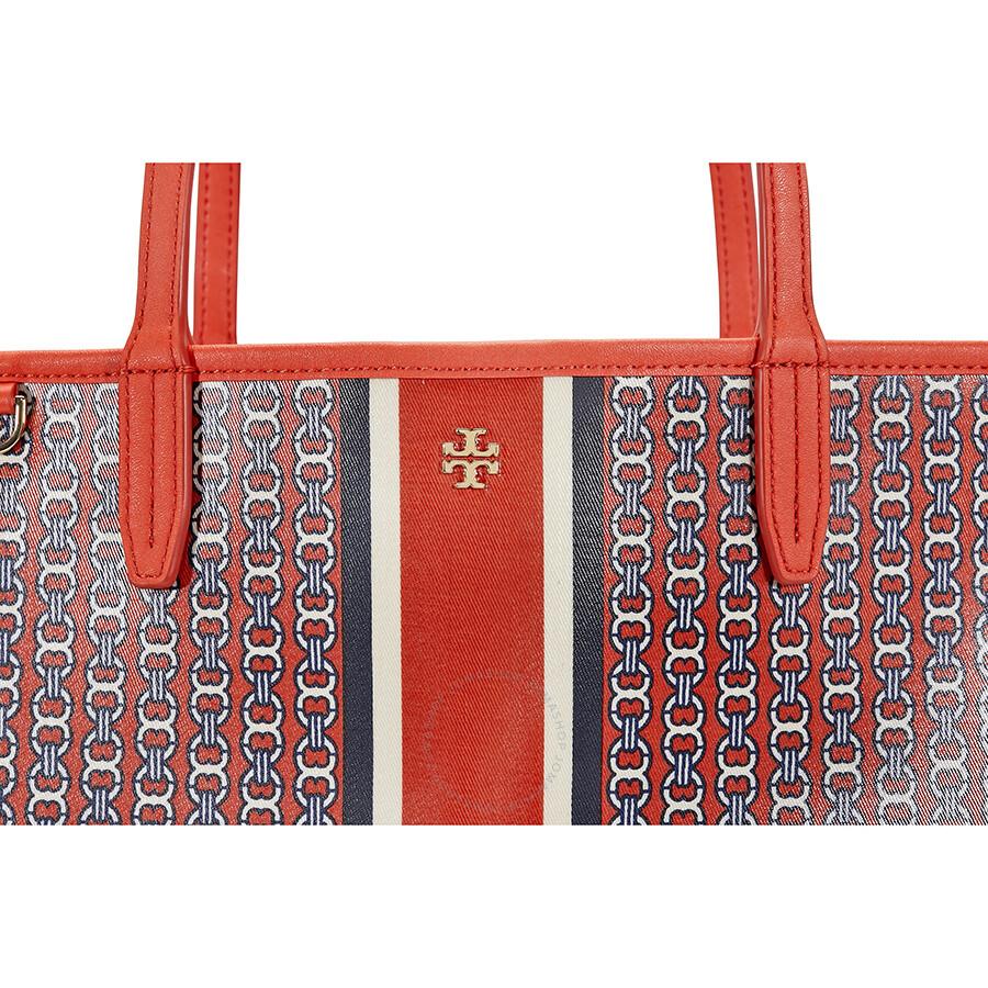 3f2860ced5ef Tory Burch Gemini Link Tote - Samba - Tory Burch - Handbags - Jomashop