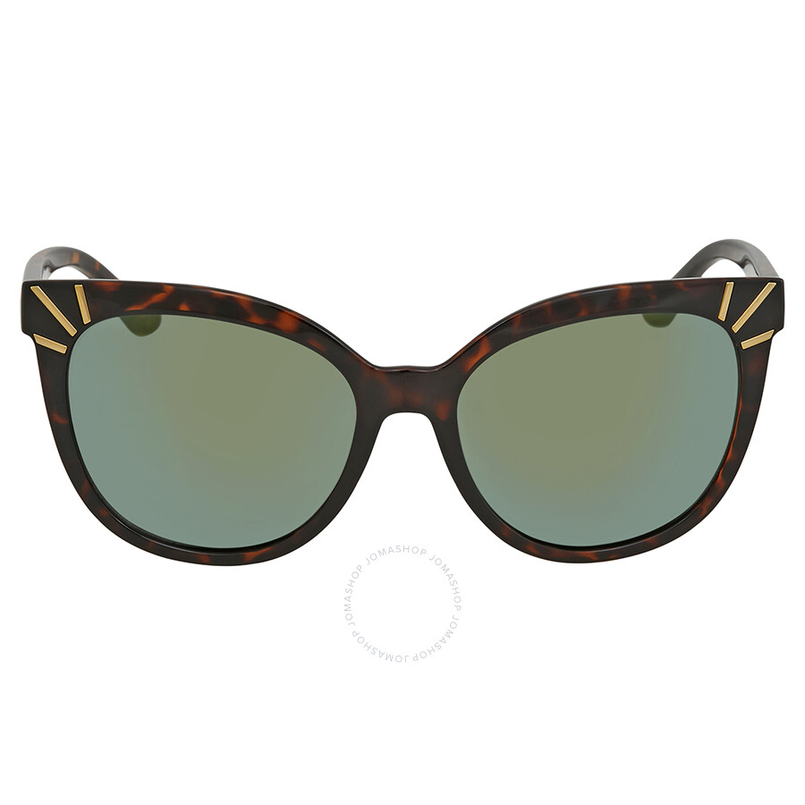 5afeb848e826 Tory Burch Green Cat Eye Sunglasses TY9051 13786R 56 - Tory Burch ...
