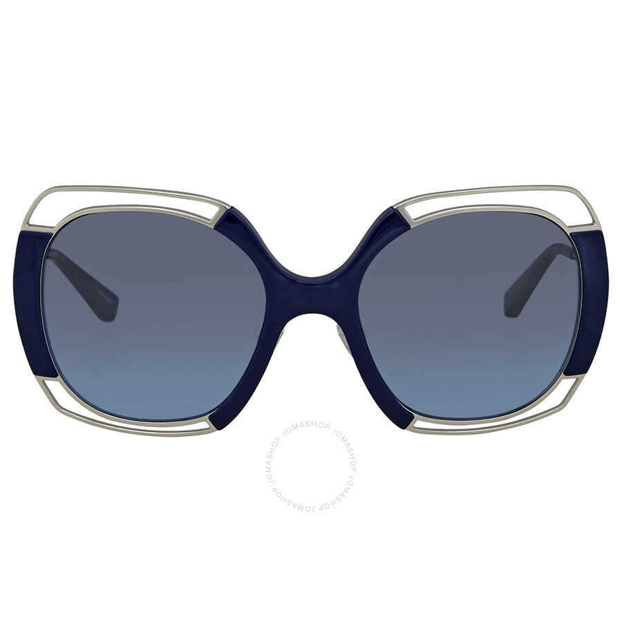 c71a1d093 ... Tory Burch Grey/Blue Gradient Square Sunglasses TY6059 30908F 54 ...