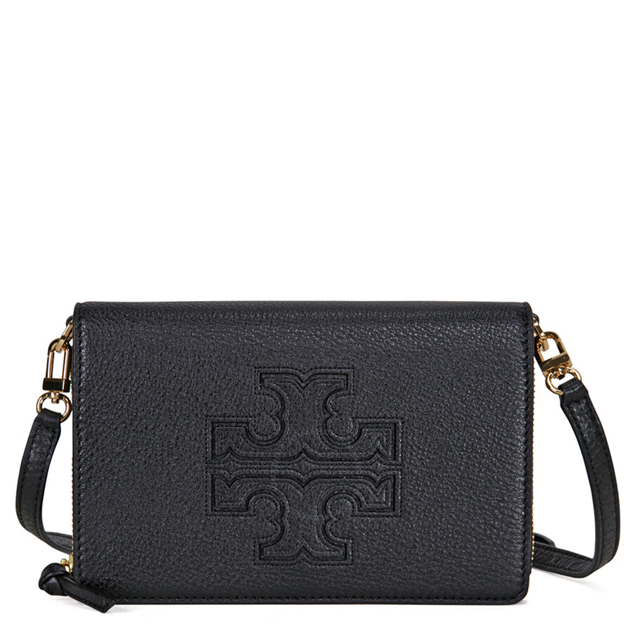Leather Gmbh Contact Us Email Sales Mail: Tory Burch Harper Flat Wallet Leather Crossbody