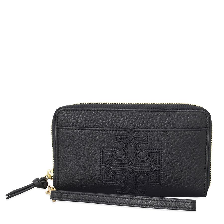 65554b25d0c2 Tory Burch Harper Smartphone Wristlet - Black Item No. 32173-001