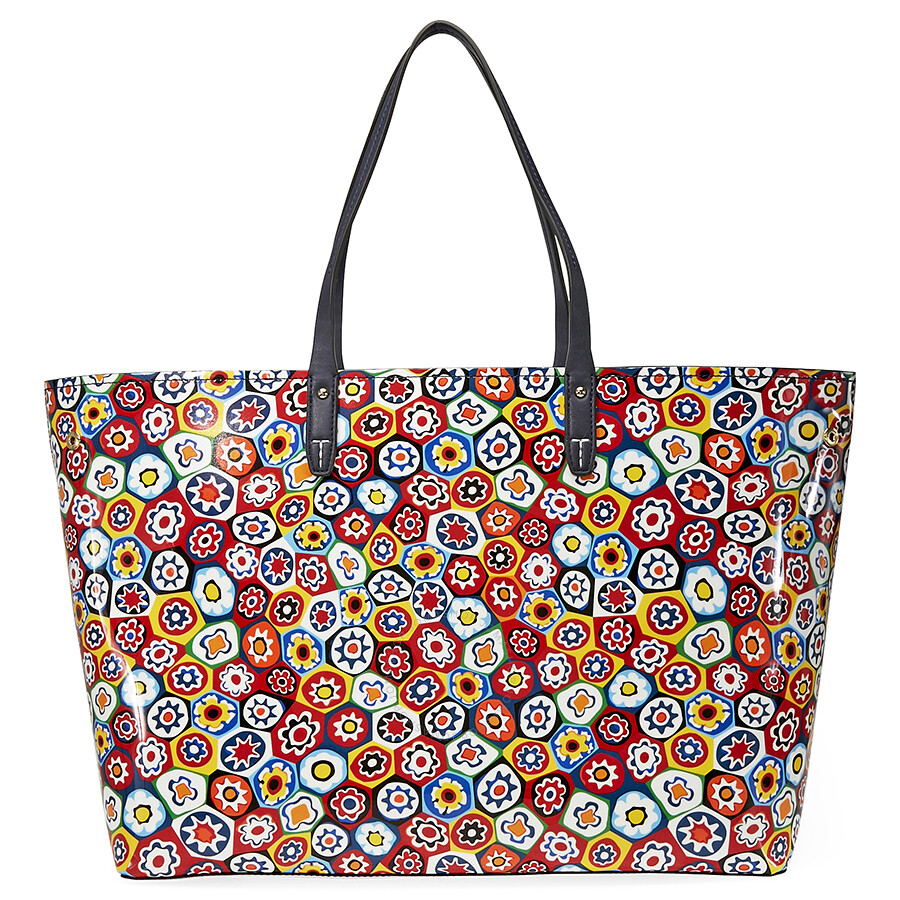 cb9d99cf173 Tory Burch Kerrington Square Tote - Millefiori - Tory Burch ...