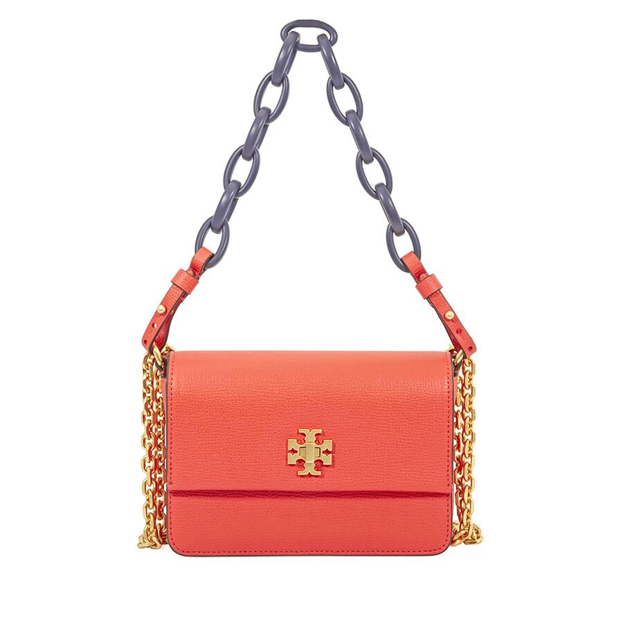 0a01a2d4fc177 Tory Burch Kira Mini Shoulder Bag - Poppy Red Navy - Tory Burch ...