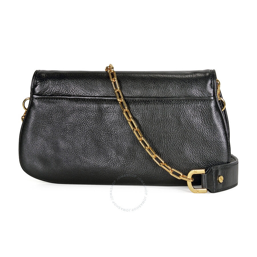 09936af7b2be Tory Burch Logo Clutch - Black - Tory Burch - Handbags - Jomashop