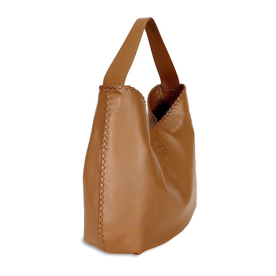 e0f5cf7c9b12 Tory Burch Marion Hobo Slouchy Tote Bag - Bark - Tory Burch ...