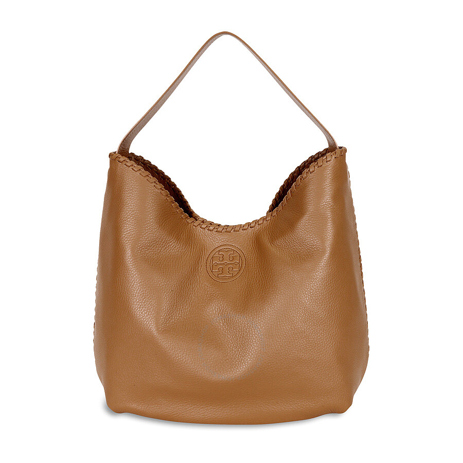 d3c0e2821ece Tory Burch Marion Hobo Slouchy Tote Bag - Bark Item No. 51159773-209