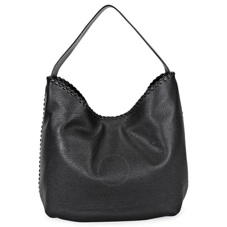 92ad0792d631 Tory Burch Marion Hobo Slouchy Tote Bag - Black Item No. 51159773-001