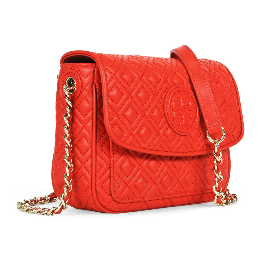 tory burch marion quilted crossbody bag masaai red