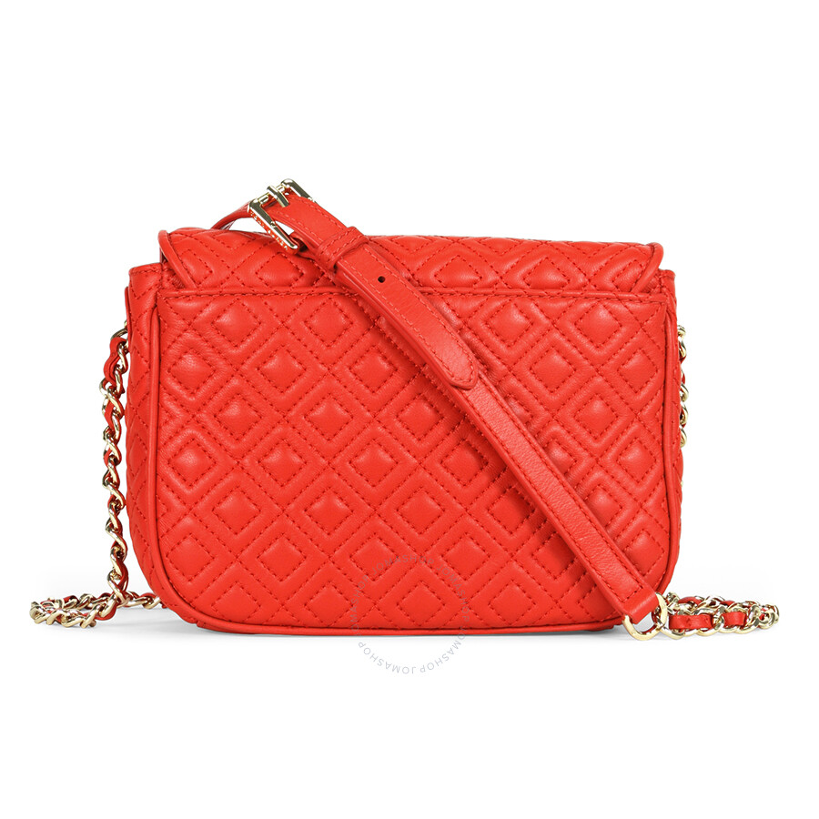 Tory Burch Marion Quilted Crossbody Bag - Masaai Red - Tory Burch ... : marion quilted crossbody - Adamdwight.com
